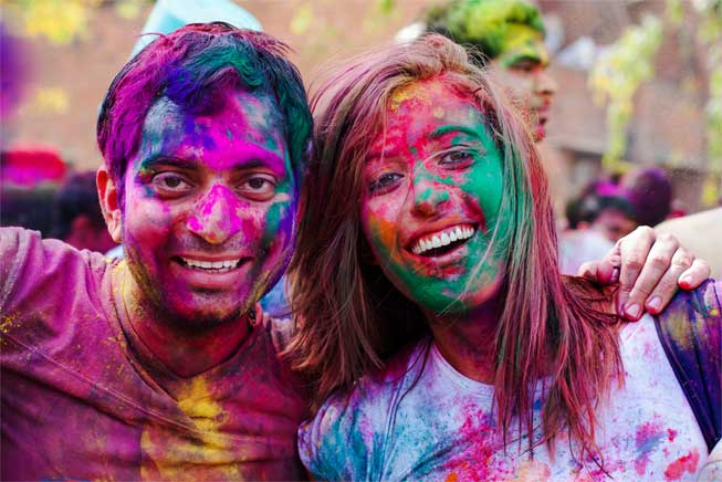 Holi and Dental Care